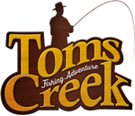 Forelvissen bij Tom's Creek....